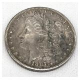 1887 Silver Morgan Dollar
