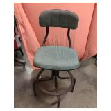 Vintage metal hobby bar chair