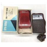 2 Vintage Transistor Radios