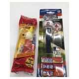 2 PEZ candy dispensers Jack in The Box and Red