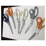 6 Pairs of Scissors