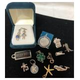 Lot of vintage necklace charms