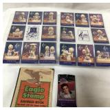 Elvis & Precious Moments trading cards and Eagle