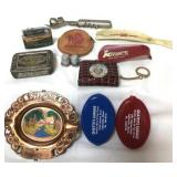 Lot of vintage advertising and souvenir items