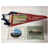 SS Admiral St Louis and other souvenir items