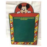 Vintage Disney Diamond H Brand chalkboard 24x16