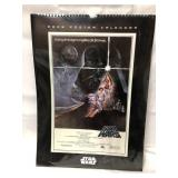 SEALED Star Wars 2006 Poster Calendar 18x13
