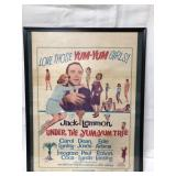Framed 1963 movie poster 63/311   It is 20x16