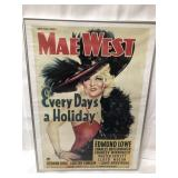 24x18 Mae West piste franed