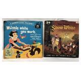 2 vintage Walt Disney Snow White children