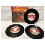 3 vintage vinyl Monkees records Colgems Records-1