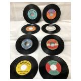 8 vintage vinyl records from rare labels incl