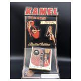 """Kamel """"camel"""" cigarette Display cardboard 17"""""""