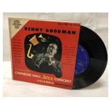 Vintage vinyl Benny Goodman 3 record book