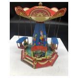 "Wagner Brunn Tin Carousel made in Germany 2002 8"""