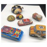 Vintage Tin Cars and Animals Wind-up