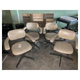 4 cosmetology chairs
