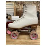 Chicago White Rink Roller Derby Skates