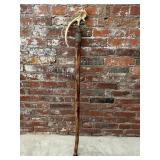 Hand Crafted Walking Staff with Antler Shed