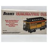 Beams Combination Car Decanter, sealed  With