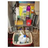 Lot of laundry items and cleaning supplies & aids
