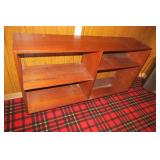 "Teak Book shelf 48"" x 12"" X  30.5"" H"