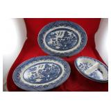 "Churchill pair of platters 14.25"" x 11.5"
