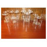 Spode Crystal glassware -16 pc.