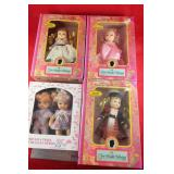 Doll lot in original boxes: The Bright Collection