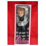 Doll Lot: Century collection porcelain doll MIB