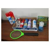 Lot: Mosquito Coils, Resolve, Glass Cleaner
