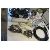 Electric Lot: power bars, extension cords,