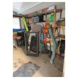 Contents of shed ; Gardening aids,