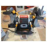 "Jobmate Rotary Tool Kit; Roybai bench 6"" grinder"