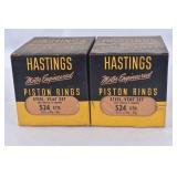 Boxes of Hastings Piston Rings Steel Vent Set 524