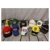 Lot of 10 Baseball hats