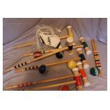 croquet set w/bag