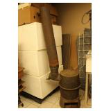Cast wood stove