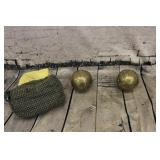 2/ Lawn bowling balls & esrto di firenze bag