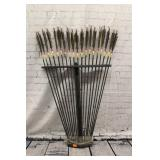 Hand carved Arrows metal tips