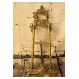 Brass plate stand / picture stand