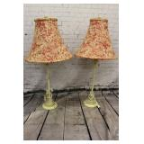 2 Vintage table lamps