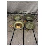 4/ copper pans