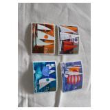 4/ Stamps Sailboats