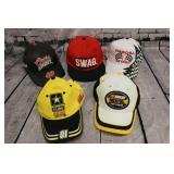 5 Baseball caps