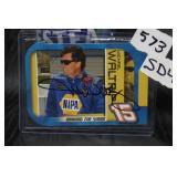 Michael Waltrip Autographed card