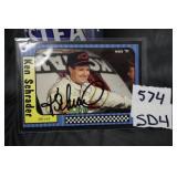 Ken Schrader autographed card
