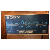 Sony compact disc player new in box