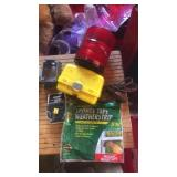 Misc. lot weather strip, ext. cord, clamps and