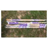 4 packs of bamboo stakes